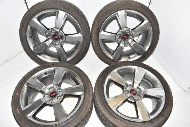 5x114.3 OEM Subaru STi 2008-2014 GRB / GHB 18x8.5J Replacement Used Mags