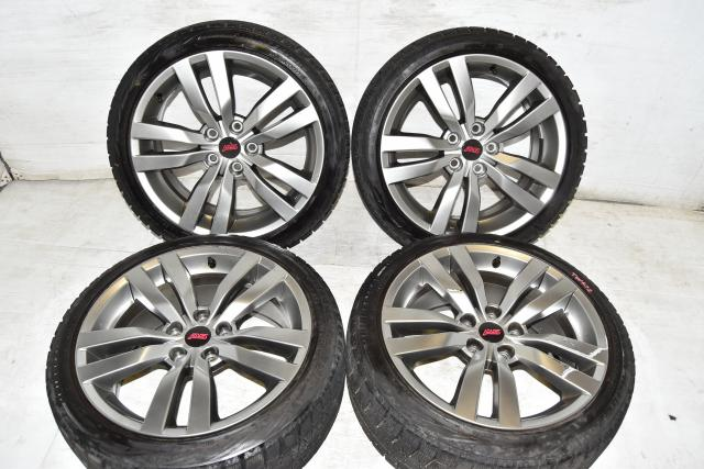 Used JDM Enkei OEM GR WRX STi 2008-2014 Replacement 5x114.3 18x8.5J Mags for Sale