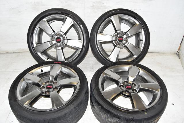 Used Subaru JDM STi 2008-2014 Replacement OEM 5x114.3 18 Inch Mags