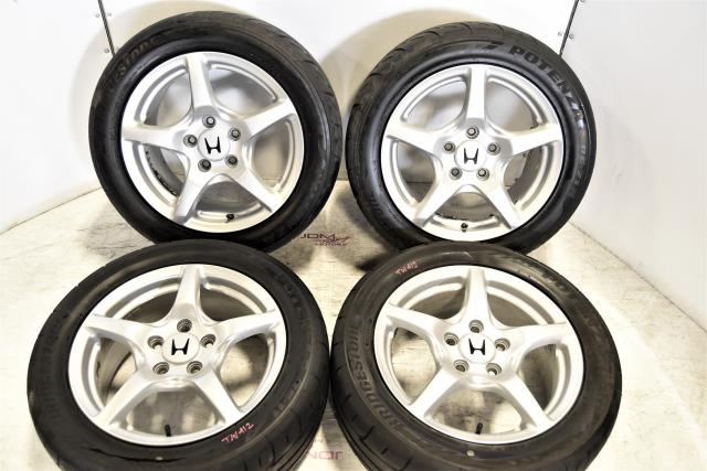 Used JDM AP1 S2000 Enkei Staggered Replacement OEM 5x114 Mags for Sale
