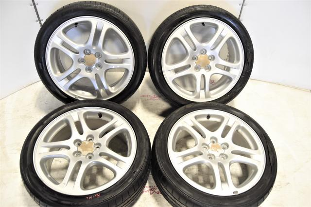 Used JDM Subaru Impreza WRX 2002-2007 OEM 5x100 Mags for Sale