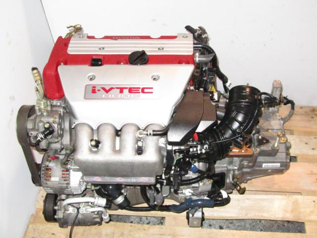 JDM HONDA K20A Acura RSX Type-R Engine Y2M3 6 Speed Transmission Montreal Canada