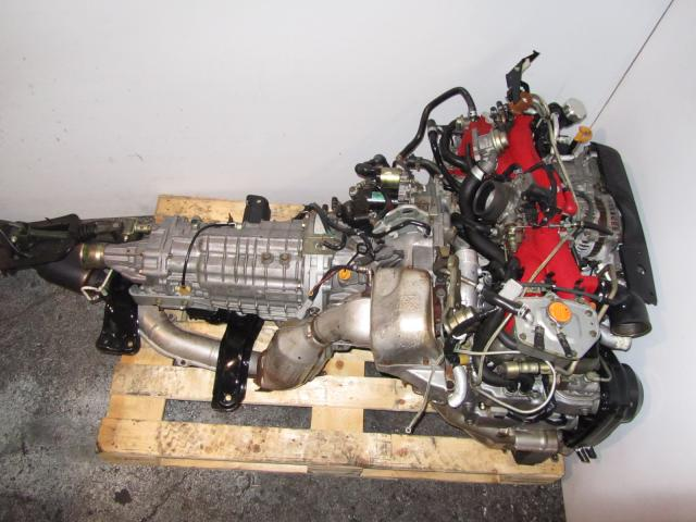 JDM EJ207DW7ER Engine TY856WB6JA 6 Speed DCCD Transmission Version 8 Spec-C