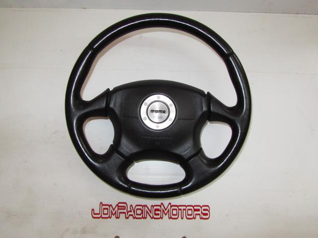 JDM STI Ver 7/Version 7 Steering Wheel with SRS Airbag Free Shipping Canada & 48 Lower States