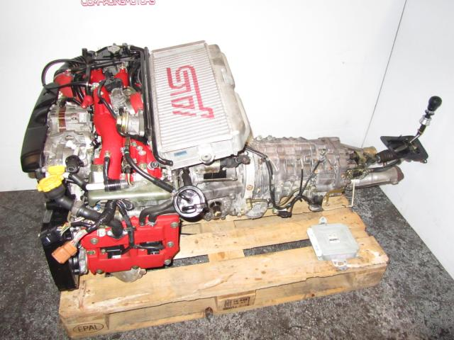 JDM SUBARU WRX IMPREZA EJ207 Engine and Transmission EJ207DW4CR STI PRODRIVE