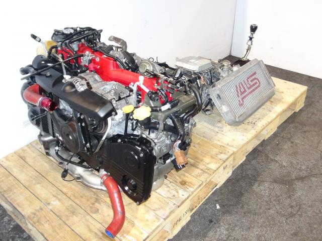 JDM EJ207 Version 7 Engine & TY856WB1CA 6 Speed Transmission