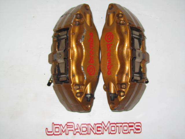 JDM Front Brembo Calipers for Subaru WRX Ver 7, Ver 8, Ver 9 Montreal Canada USA