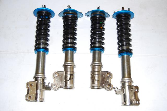 SUBARU USED GC8 CUSCO FULLY ADJUSTABLE SUSPENSION COIL-OVERS WITH TOP PLATES