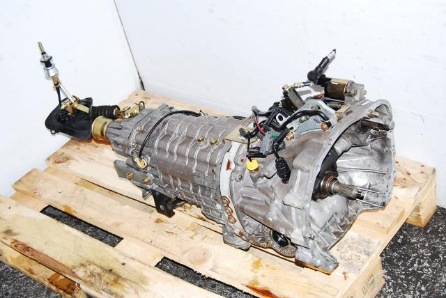 JDM Subaru Version 8 6 Speed Transmission TY856WB3KA DCCD