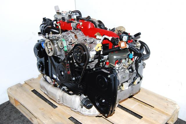 JDM SUBARU EJ207 Version 8 Twin Scroll VF37 Engine, JDM Version 8 motor