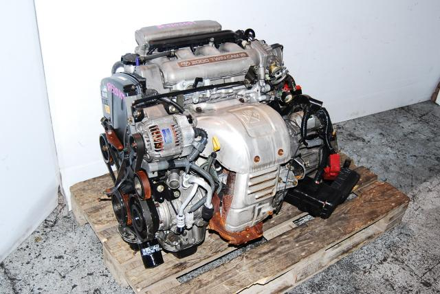JDM TOYOTA 3S GE CELICA S202 ENGINE 3SGE NON TURBO MOTOR 1994-1999 MONTREAL