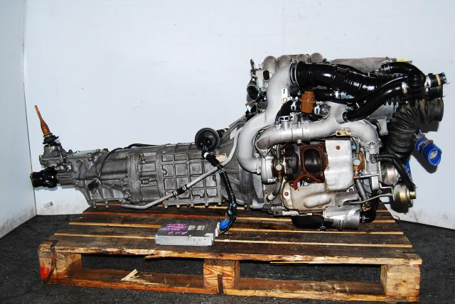JDM RX-7 Rotary FD3S Engine 13B-TT Twin Turbo rotary motor Transmission Montreal
