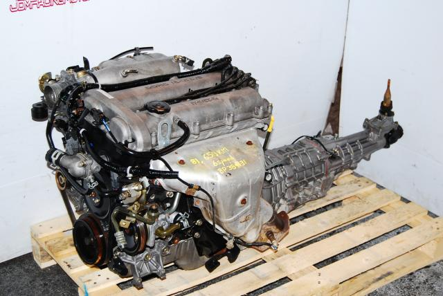 Mazda Miata 1.8L Engine 6 Speed Transmission BP-Z3 BP-4W Motor