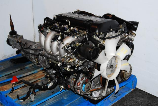 JDM NISSAN SR20DET S13 Blacktop Engine, SR20 Turbo Motor Manual Transmission Silvia, 180SX 240SX