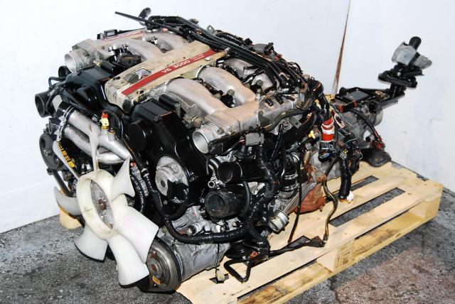 300zx Vg30det And Vg30dett Twin Turbo Motors Nissan