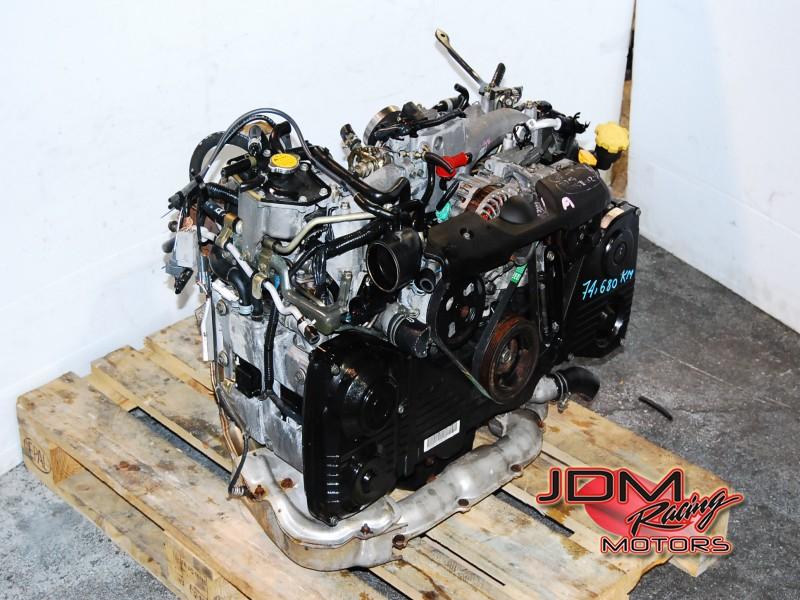 JDM EJ205 OBD2 Turbo Engine, EJ205DX3B5 WRX Motor AVCS model
