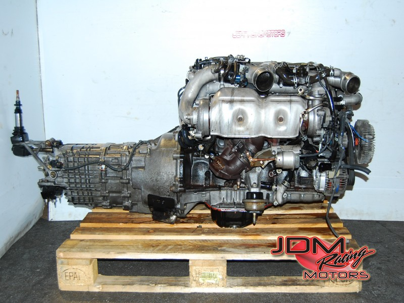 JDM 2JZ GTE JZA80 Supra Engine 6 Speed Getrag transmission