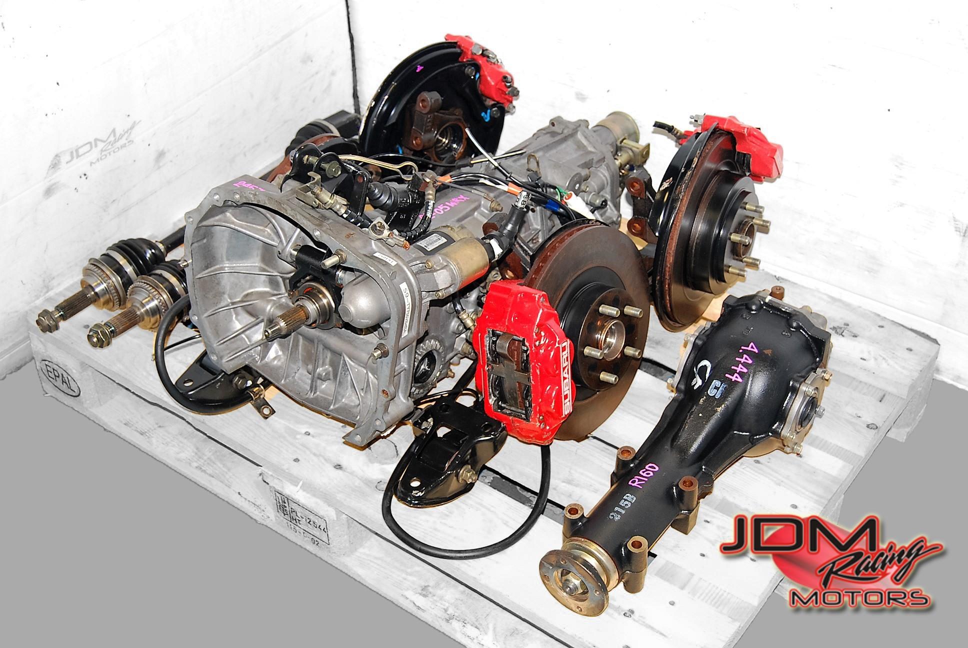 Subaru Jdm Engines Parts Racing Motors 2008 Boxer Engine Diagram Impreza Wrx 5mt Manual Transmissions