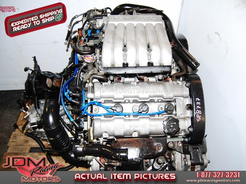 JDM 6G72 Twin Turbo Engine, 5 Speed Getrag Transmission
