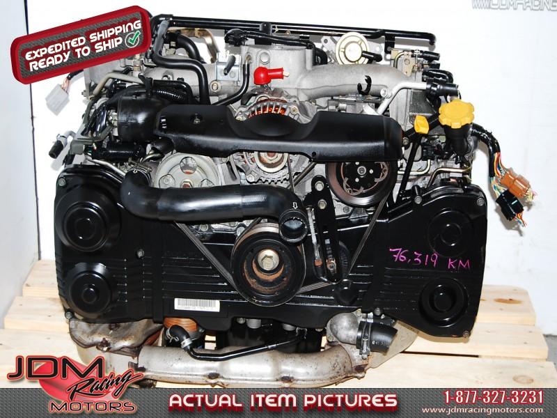 JDM Subaru WRX 2002-2005 EJ205 Engine DOHC AVCS Quad Cam Motor