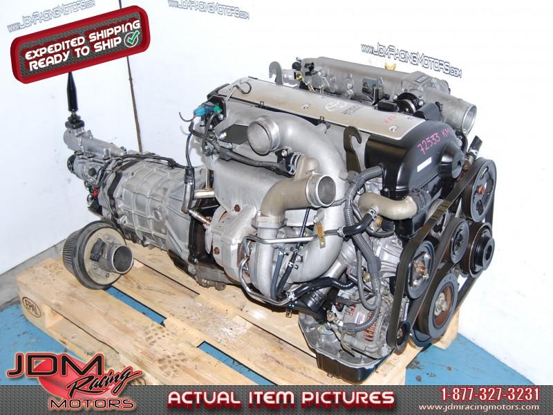 JDM 1JZ GTE VVTI Engine 5 speed transmission