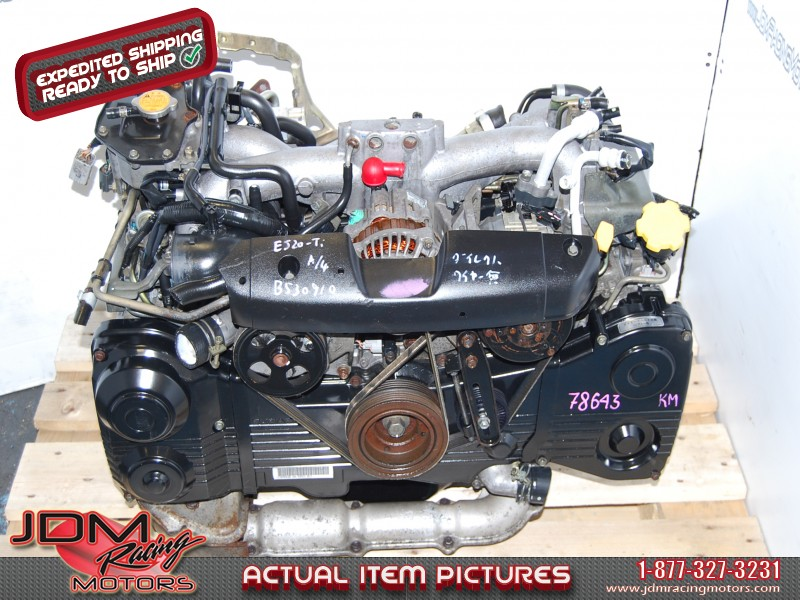 JDM EJ205 Engine Block, TF035 Turbo, AVCS TYPE