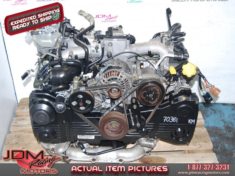 SUBARU Impreza WRX 2002-2005 EJ205 Engine, EJ20 Turbo Motor
