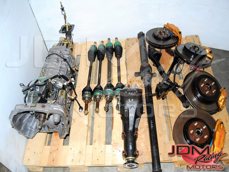 Subaru WRX STi 2002-2007 TY856WB4KA Transmission For Sale, Version 8 DCCD Complete 6MT Low Mileage Package