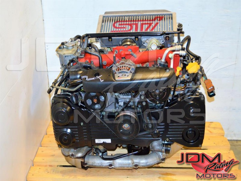 JDM Forester STi EJ255 2 5L Motor with VF41 Turbo, Subaru DOHC 2004-2007  Engine For Sale