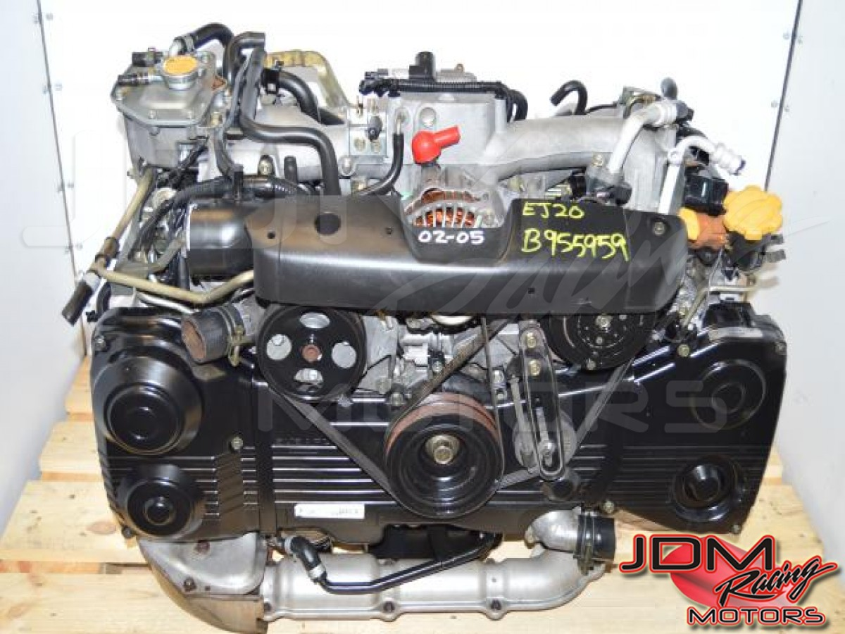 Used JDM Subaru EJ20 Turbo AVCS Motor Swap, GDB GDA EJ205 DOHC 2 0L Engine  For Sale