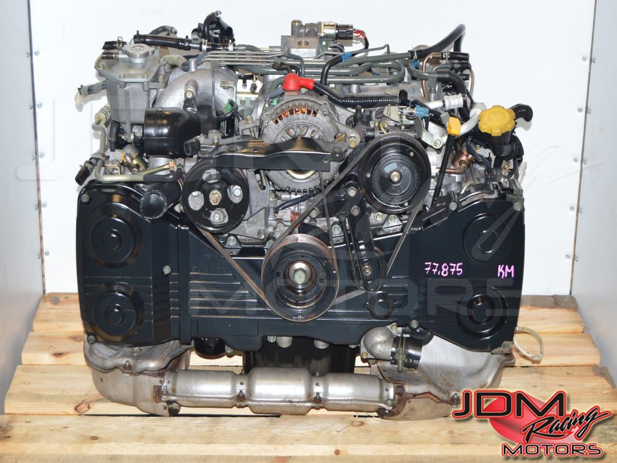 JDM Subaru Legacy 96-98 EJ206 / EJ208 Twin Turbo 2 0L DOHC Engine Swap For  Sale