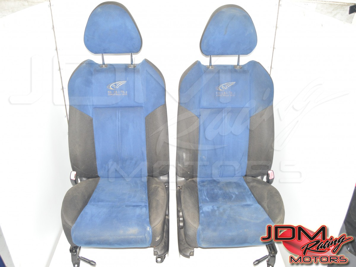 JDM Subaru SG5 Limited WRB Front Seats For Sale World Rally Team