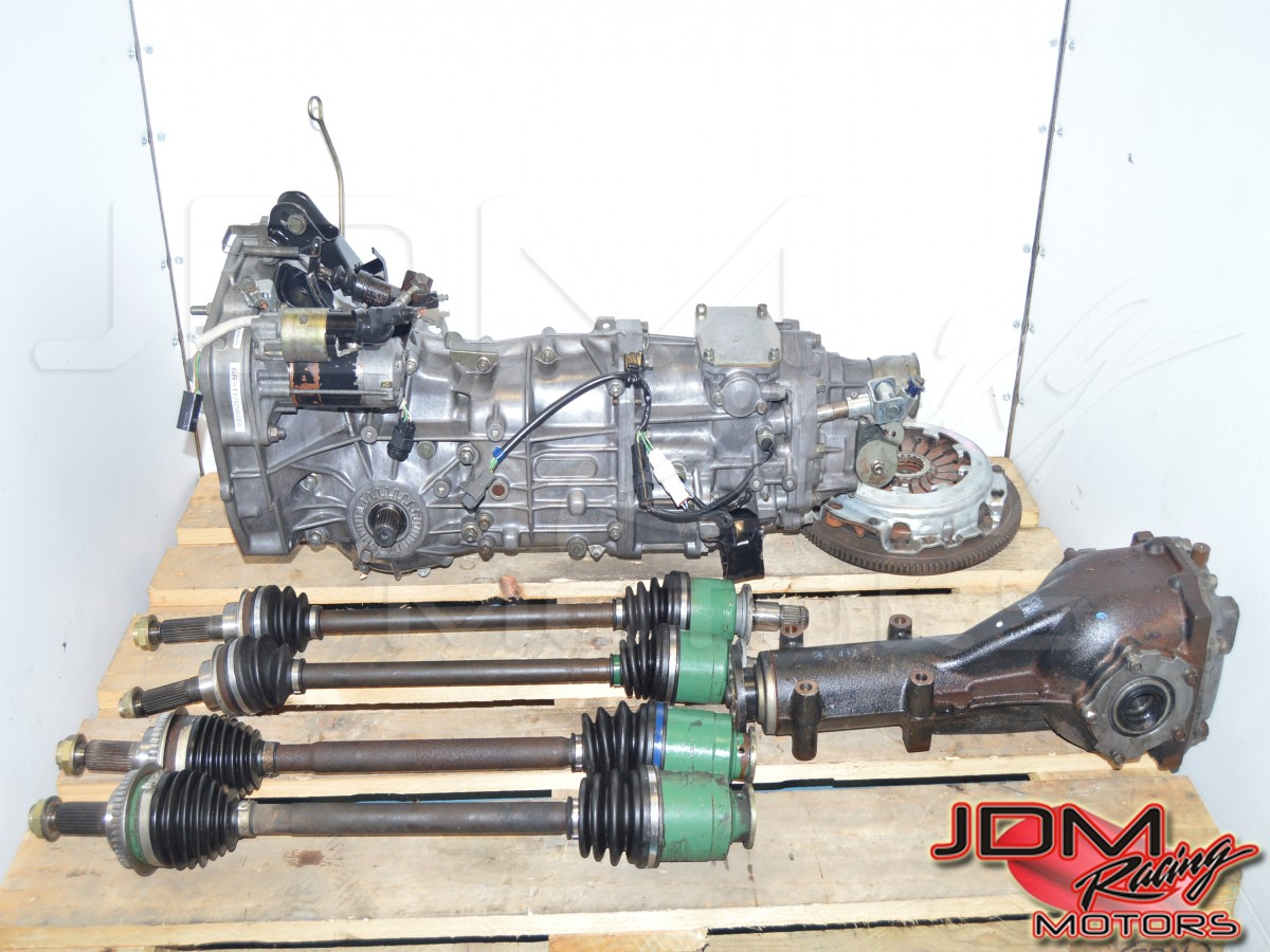JDM Subaru Impreza WRX 2002-2005 LSD Rear Diff 4.444 & 5 Speed Manual Transmission Package