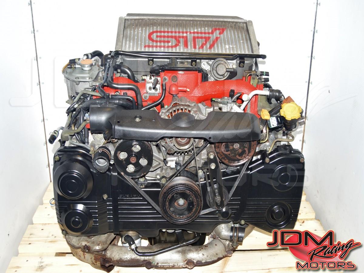 JDM Subaru EJ207 2 0L STi 2002-2007 Version 7 Single Scroll AVCS DOHC  Turbocharged Engine Swap For Sale