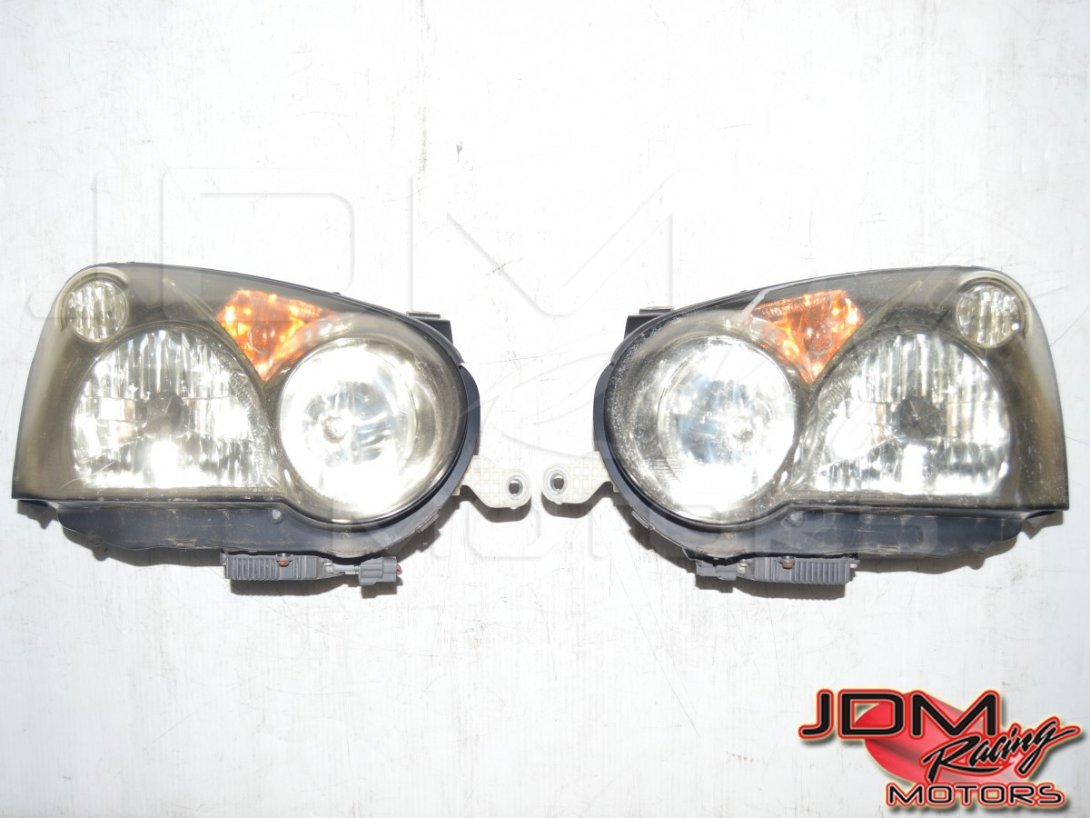 Version 8 Blobeye HID OEM Headlights (Leveled for RHD)