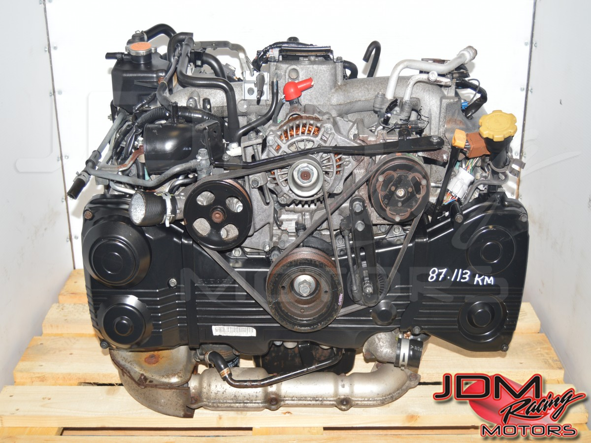 JDM Subaru EJ205 Engine with TF035 Turbocharger for Sale with AVCS & TGV Delete WRX 2002-2005