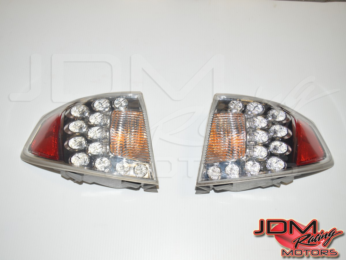 2008-2014 Subaru WRX STI Hatchback Rear Outer Clear Tail Lights