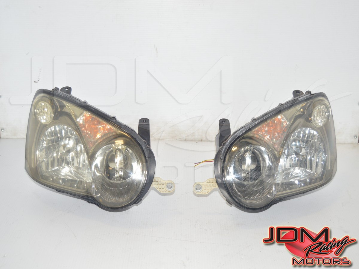 JDM Subaru WRX Version 8 2004-2005 Blobeye Headlight Assembly for Sale