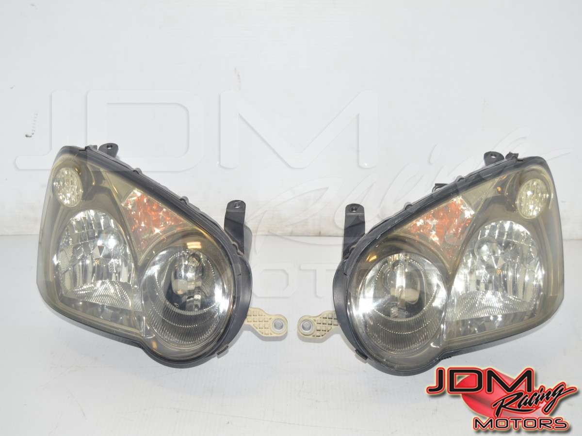 JDM Subaru Blobeye 2004-2005 Version 8 Left & Right Headlights for Sale with Ballasts