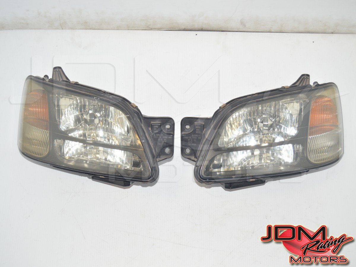 JDM BH5 BE5 Used Subaru Legacy Complete Headlight Zenki Style Assembly