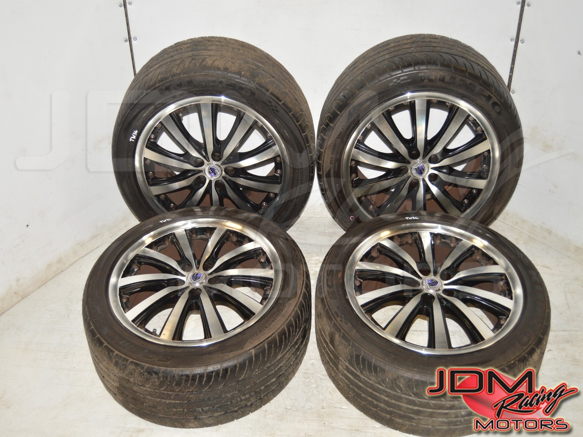 Used Subaru WRX 5x100 Wheels with Ecsta Tires 205/50 ZR17 for Sale ET48