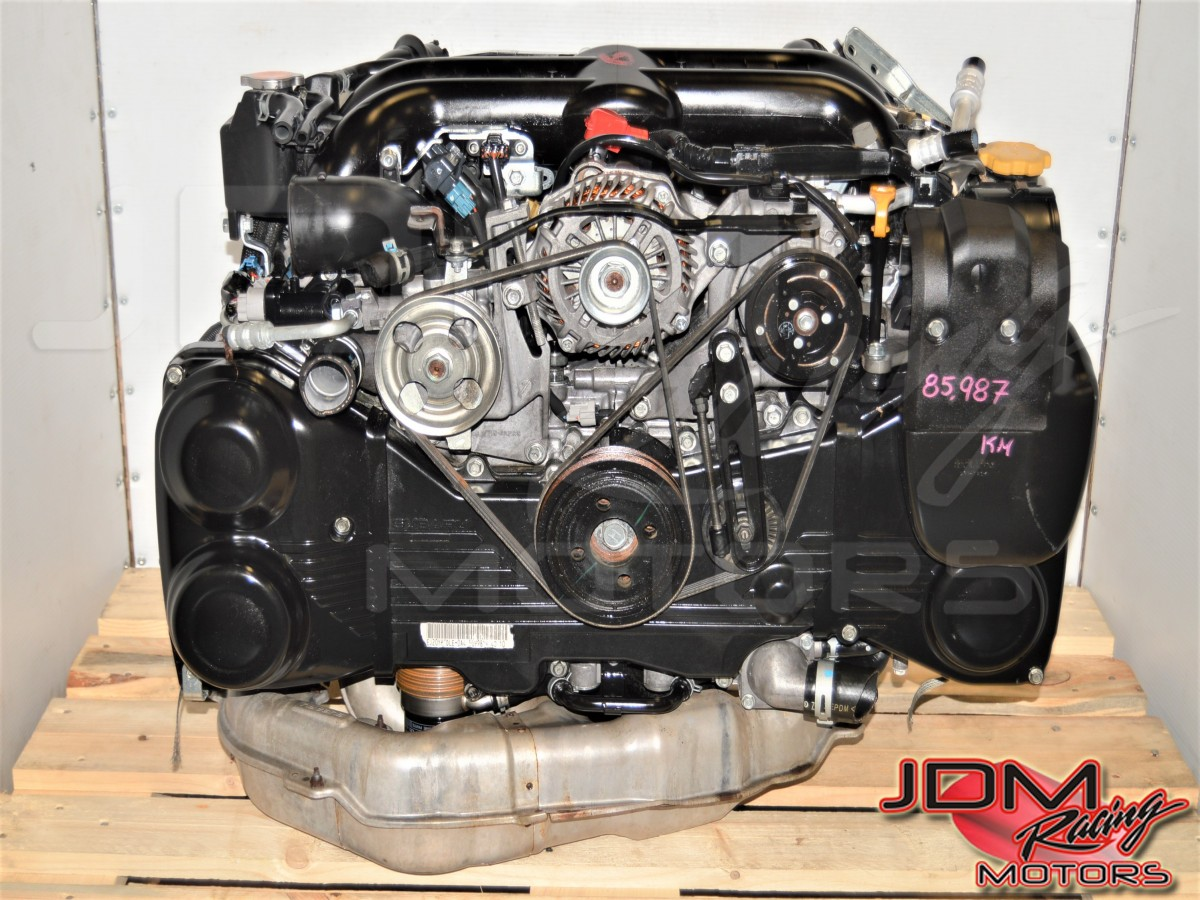 2008-2014 2.0L Replacement EJ20Y Used JDM Legacy Spec-B Motor with VF45 Twin Scroll Turbocharger for USDM EJ255
