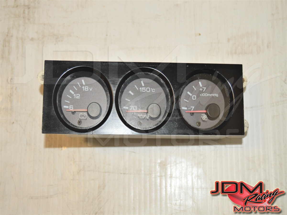 GTR R32 Nissan 89-94 Boost Gauge Instrument Panel with Oil Temp & Voltage Meter for Sale