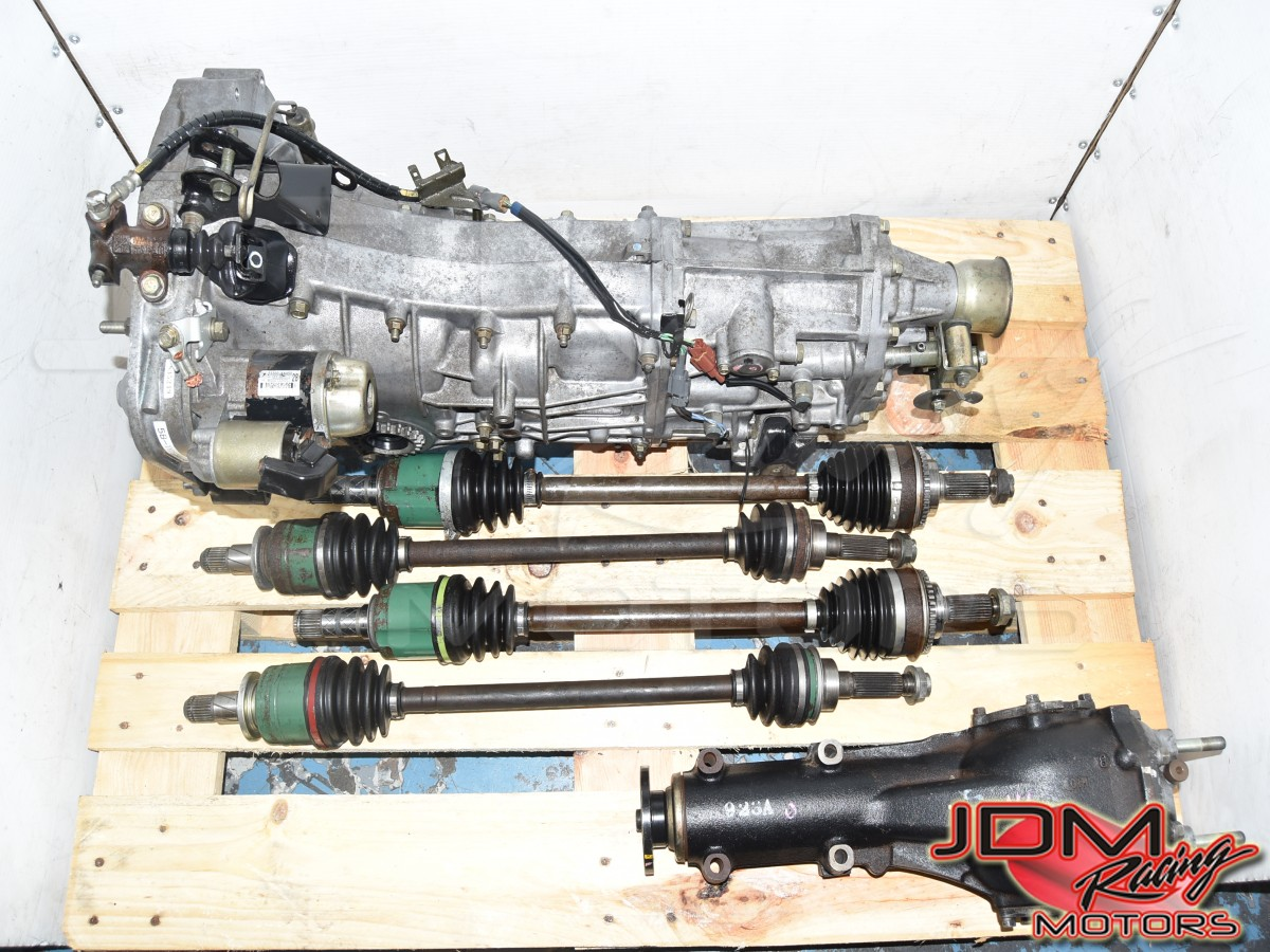 Used JDM WRX 2006-2014* Push-Type 5-Speed Manual Transmission with 4.11 Rear Differential