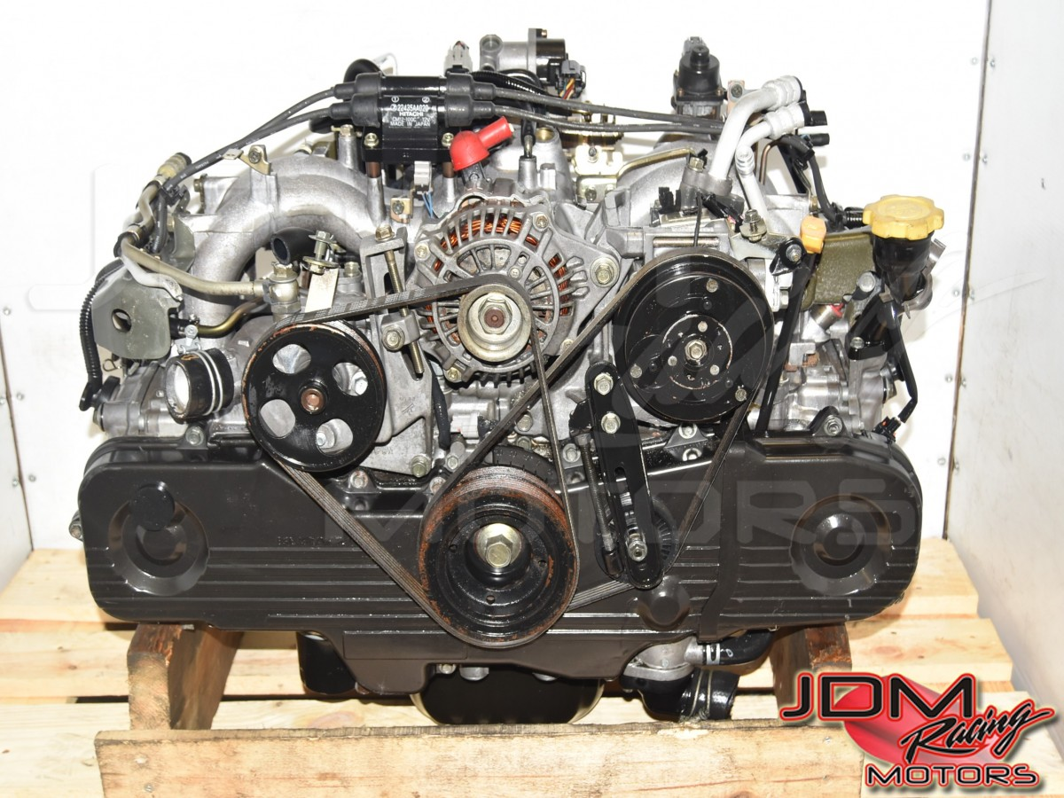 Used JDM Subaru Forester, Legacy, Impreza SOHC NA 2.0L Replacement EJ201 Engine for Sale with EGR