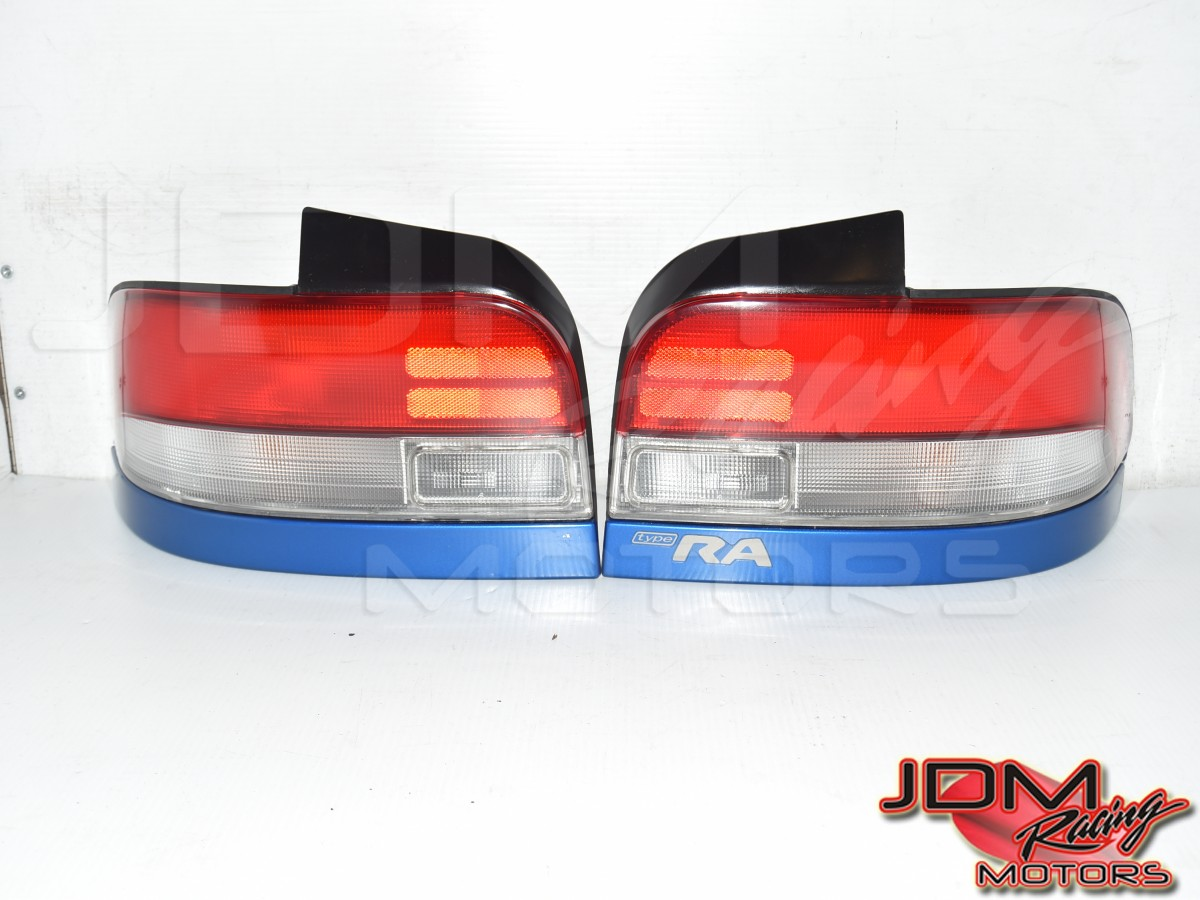 Used JDM Subaru STi GC8 Type-RA WRB OEM 1998-1999 Version 6 Sedan Rear Tail Light Assembly for Sale