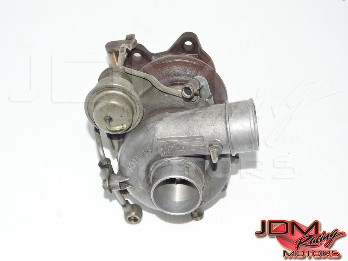 Used JDM OEM Subaru STi Version 5 GC8 Type-RA EJ207 / EJ20K VF28 IHI Single Scroll Turbocharger Assembly jdm parts for sale