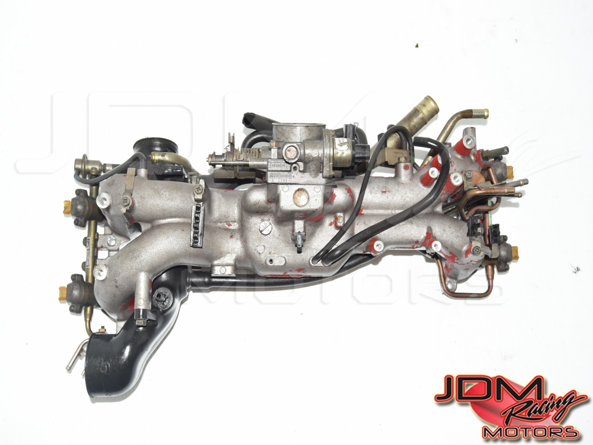 Used JDM v5 GC8 Type-RA EJ207 / EJ20K OEM Intake Manifold Assembly for Sale