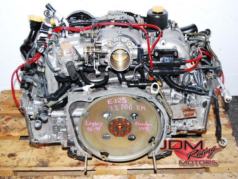 Jdm Subaru Ej25 Dohc Quad Cam Engine Ej25d Motor 96