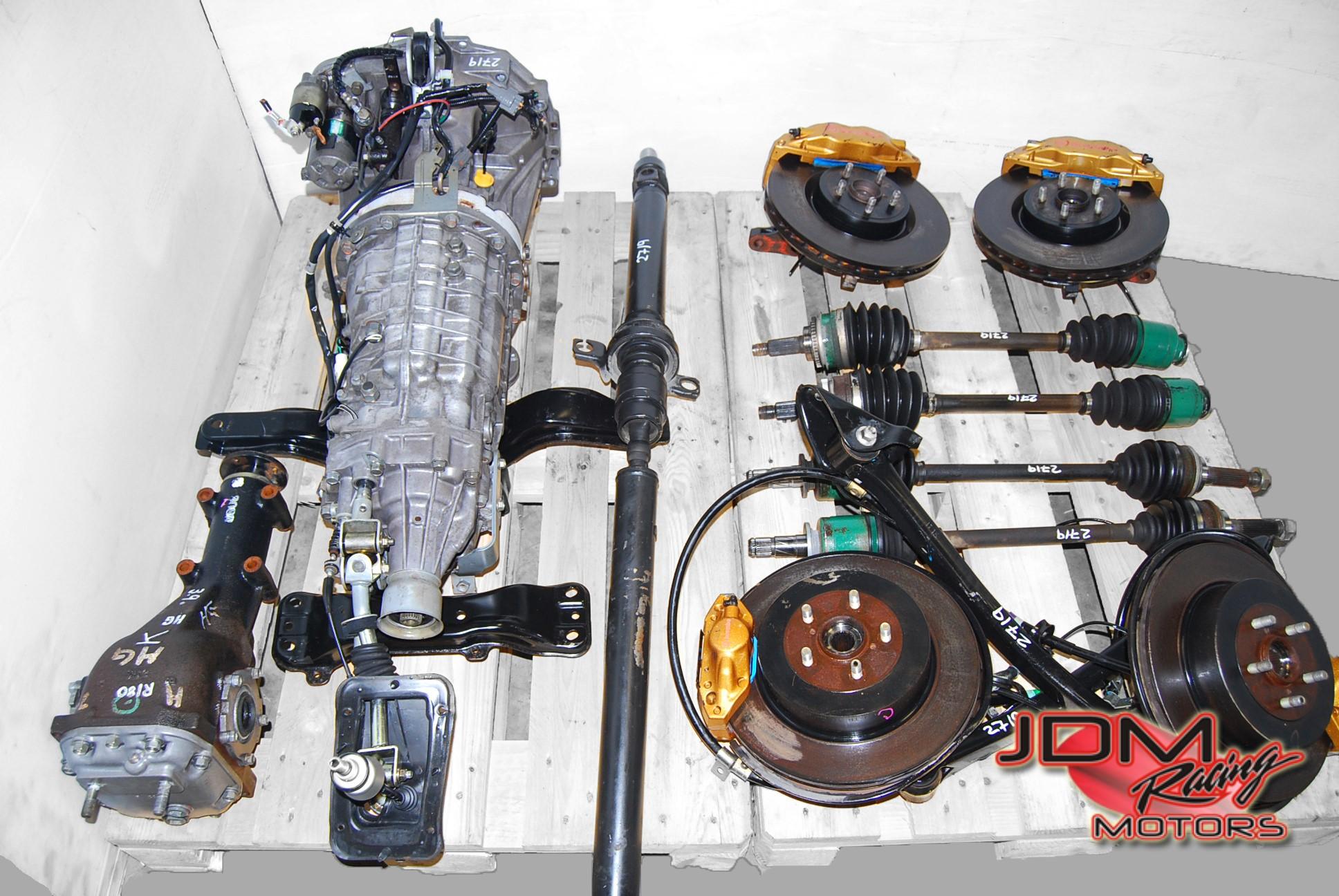 Subaru Jdm Engines Parts Racing Motors 97 Impreza Engine Diagram 6 Speed Sti Transmissions 22 Item Title Wrx 5mt Manual